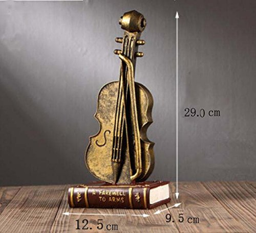BWLZSP American creative retro musical instrument wine cabinet entrance shop craft ornaments cafe clothing store window ornaments AP5031513 (Color : A)