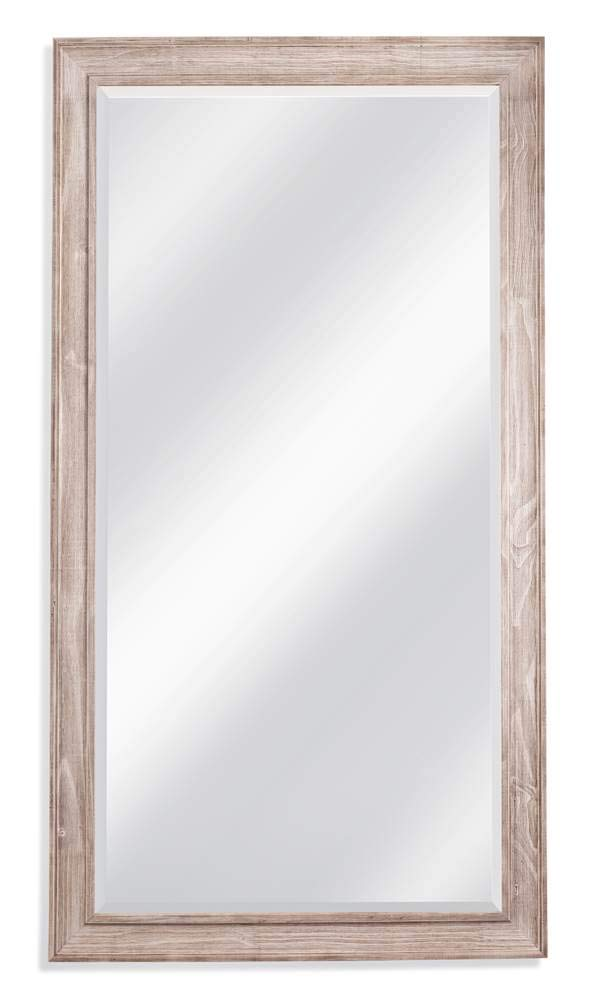 Kibbe Leaner Mirror in White Wash - Warranty: One year Made from wood Made in China - mirrors-bedroom-decor, bedroom-decor, bedroom - 51gg5TbU RL -
