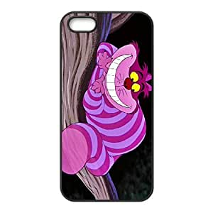 iPhone 4 4s Cell Phone Case Black Disney Alice in Wonderland Character Cheshire Cat Hard Fashion Phone Case Cover XPDSUNTR00712