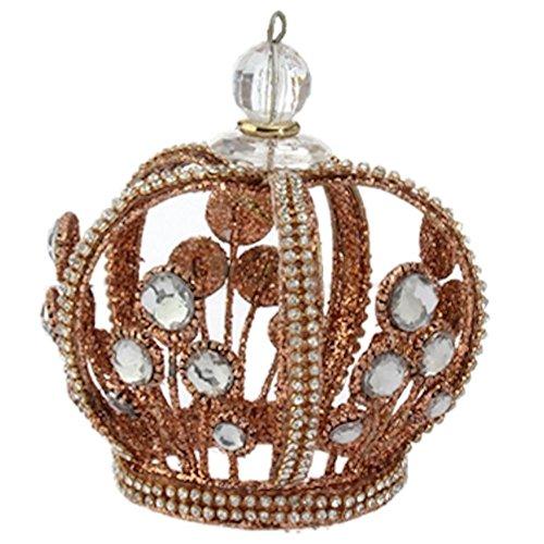 Royal Crown Jeweled Crown Ornament 3616269 RAZ Imports (Bronze) -