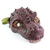 TTShonf Scary Rex Triceratops Dinosaur Latex Face Mask Halloween Cosplay Party Supples Tarbosaurus