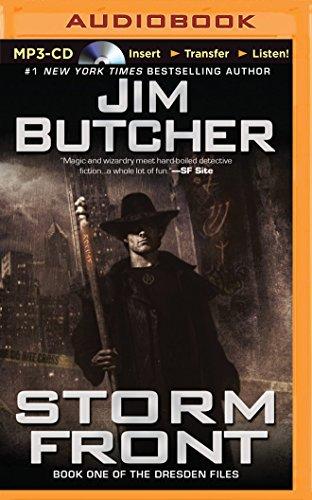 jim butcher books on cd - 8