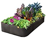 Victory 8 Fabric Raised Garden Bed, 3x6 Feet