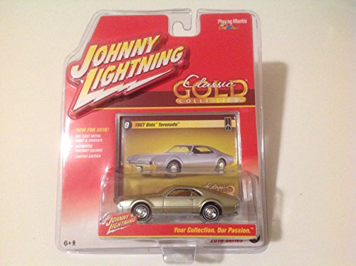 Johnny Lightning 2016 Classic Gold Collection 1967 Olds Toronado Silver #9