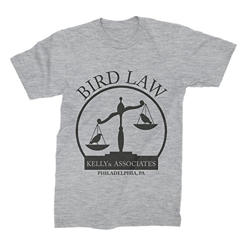 Kelly and Associates Shirt Bird Law T-Shirt Charlie Kelly Tee Always Sunny Clothing ()