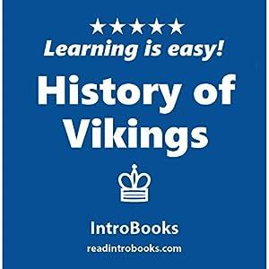 History of Vikings Audiobook