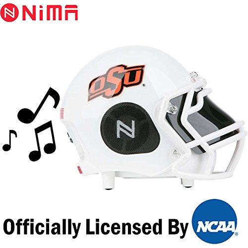 Nima Athletics NCAA Football Oklahoma State Cowboys Wireless Bluetooth Speaker. Officially Licensed Portable Helmet Speaker NCAA College Football - ()