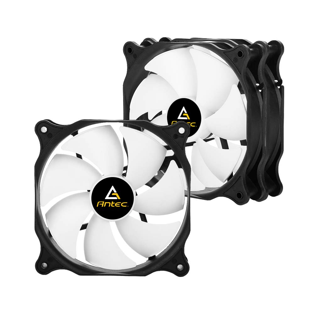Antec 140mm Case Fan, PC Case Fan High Performance, 3-pin Connector, F14 Series 3 Packs