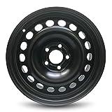 Road Ready 16x6.5 HHR Black 5x110mm Bolt Pattern Steel Wheel Rim compatible with Chevrolet Malibu 2004-2008