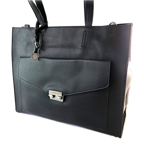 Bag designer 'Lulu Castagnette'nero - 38x31x13 cm.