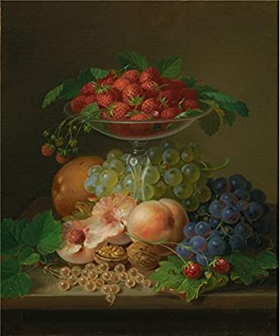 Perfect Effect Canvas ,the Best Price Art Decorative Canvas Prints Of Oil Painting 'George Forster,Still Life,1871', 24x29 Inch / 61x73 Cm Is Best For Garage Decoration And Home Decor And (Secret Life Of Bees Dvd)