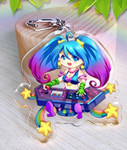 League of Legends Arcade Sona Keychain