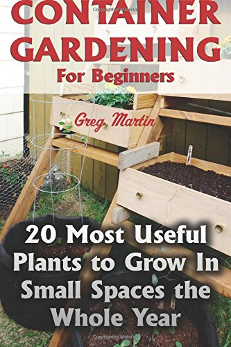 Container Gardening For Beginners: 20 Most Useful Plants to Grow In Small Spaces the Whole Year