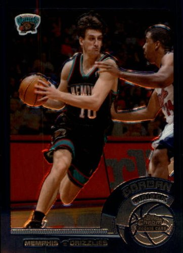 2002 Topps Chrome Basketball Rookie Card (2002-03) #151A Gordan Giricek Near (03 Topps Chrome Rookie Basketball)