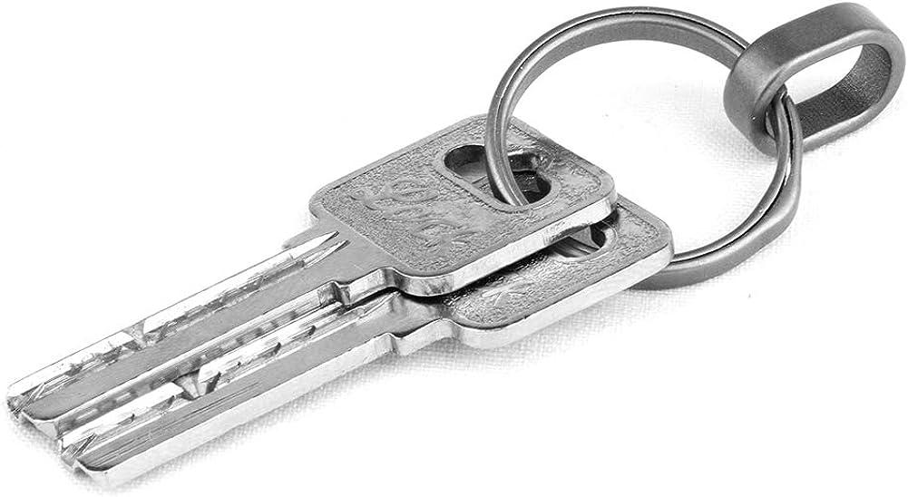 FEGVE Connecting Key Chain Rings for Home Car Keys Organization