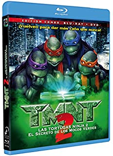Turtles 3 - Ninja Turtles [Blu-ray] [Alemania]: Amazon.es ...