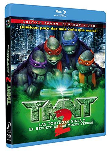 Amazon.com: Tmnt 2: El Secreto De Los Mocos Verdes (Blu-Ray ...