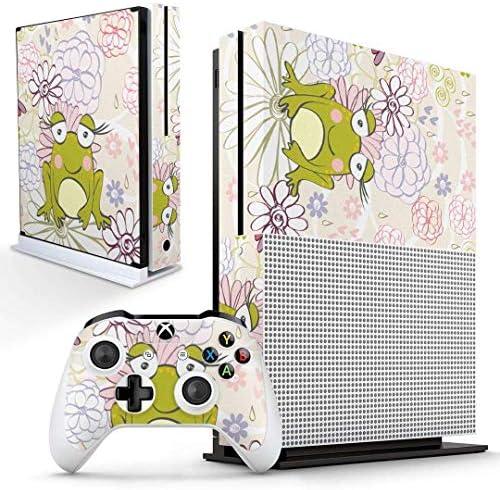 igsticker Xbox One S 専用 スキンシール 正面・天面・底面・コントローラー 全面セット エックスボックス シール 保護 フィルム ステッカー 008896