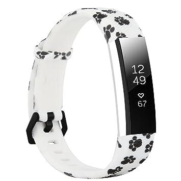 Fit-power - Correa de repuesto para reloj inteligente Fitbit Alta y Alta HR, ajustable, muy resistente, ideal para hacer deporte: Amazon.es: Deportes y aire ...