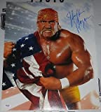 Hulk Hogan Signed WWE 16x20 Photo COA Pro Wrestling Picture Autograph - PSA/DNA Certified - Autographed Wrestling Photos