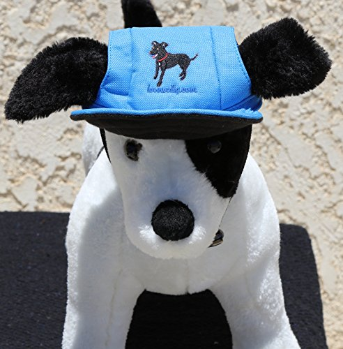 LoveWally Dog Outdoor PET Hat Blue ♦ Adjustable Authentic (Large) by LoveWally (Image #5)