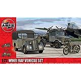 Airfix WWII RAF Vehicle Set 1:72 Scale Plastic Model Kit A03311