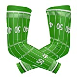 Arm Sleeves Football Field Man Baseball Long Cooling Sleeves Sun UV Compression Arm Covers