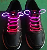 LED Light up Shoelaces Flash Shoestrings-Pink