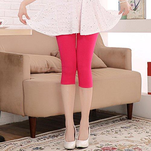 GaoXiao en pantalon à l'été minces 7 - point pantalon,l rouge