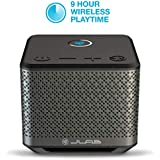 JLab Audio House Party Wireless Multi-Room Bluetooth Speaker | Connect 8 Speakers | Wireless Connectivity | Phone Control | 20 Watts | Black