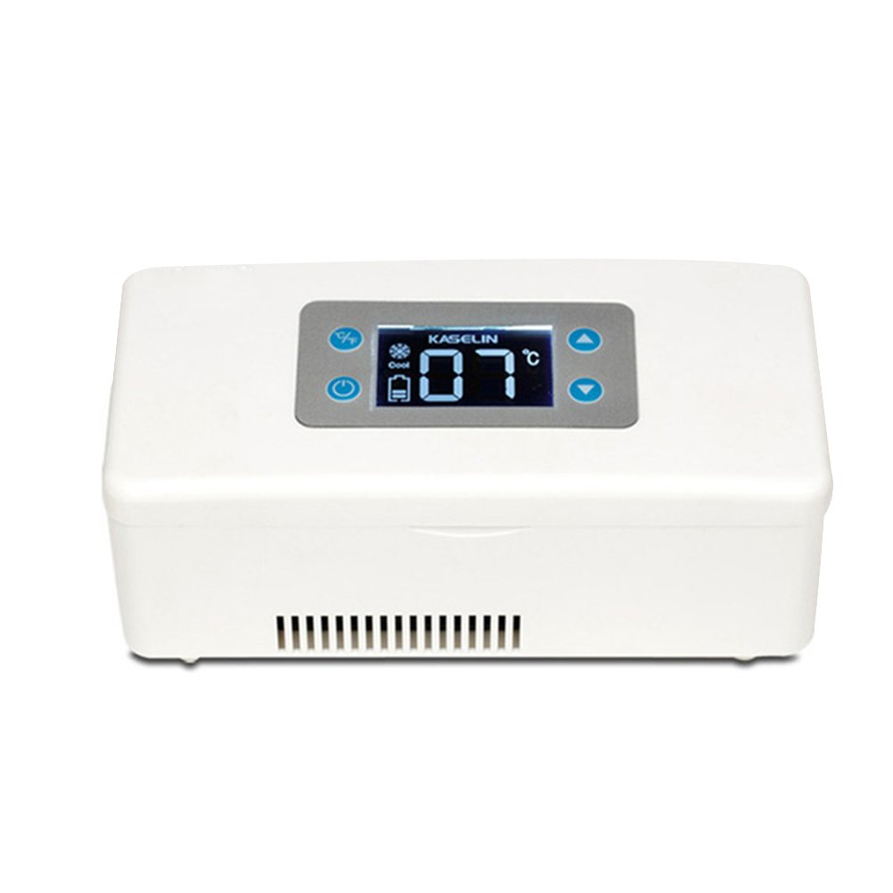 LIQICAI 12V Portable Insulin Kühlschrank Erweitertes Temperaturkontrollsystem Auto 12V LIQICAI 230V 1a4600