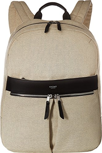 KNOMO London Women's Mayfair Beauchamp Backpack Navy Canvas One Size by Knomo