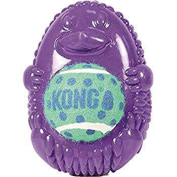 Kong Company Tennis Pals Hedgehog Pet Toy, Large (Colors May Vary)