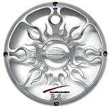 """AFG15 - Audiobahn 15"""" Polished Cast Alluminum Subwoofer Grill"""