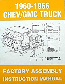 step by step 1960 1961 1962 1963 1964 1965 1966 chevy gmc trucks rh amazon com 1969 Chevy Truck 1966 chevy truck assembly manual