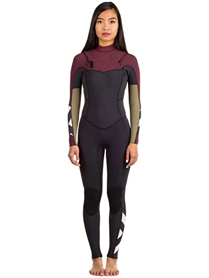 f8e5468713 Billabong 2017 Ladies Salty DayZ 3 2mm Chest Zip Wetsuit Mulberry F43G15  Sizes- -