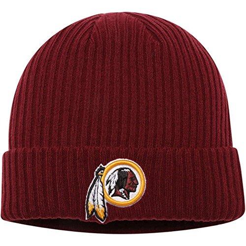 Fanatics Branded Washington Redskins Core Elevated Cuffed Knit Hat - Burgundy (One Size) from Football Fanatics