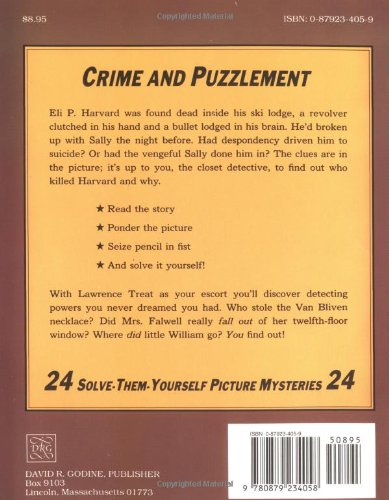 Workbook baby shower games printable worksheets free : Crime And Puzzlement: 24 Solve-them-yourself Picture Mysteries (Bk ...