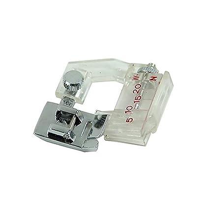 Pies NiceButy ajustable Carpeta Bias pie prensatelas Pies de encuadernación Máquina de coser Accesorio Accesorio para