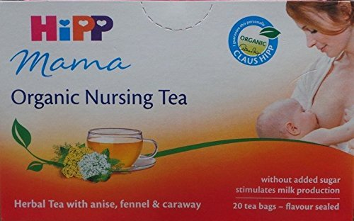 ORGANIC BABY TEA MANY FLAVOURS 20 TEA BAGS Mama Organic Breastfeeding Tea