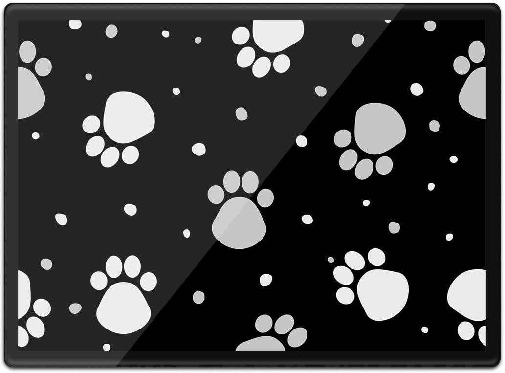 alfombrilla para rat/ón dise/ño de huellas de animales para perros y gatos veterinarios lavable resistente al agua #42370 Destination Vinyl Ltd Quickmat Mantel individual de pl/ástico A3