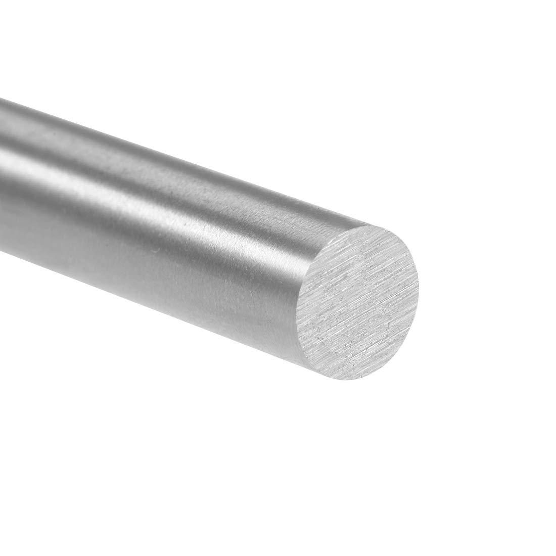 uxcell HSS Lathe Round Rod Solid Shaft Bar 6.5mm Dia 100mm Length 2Pcs
