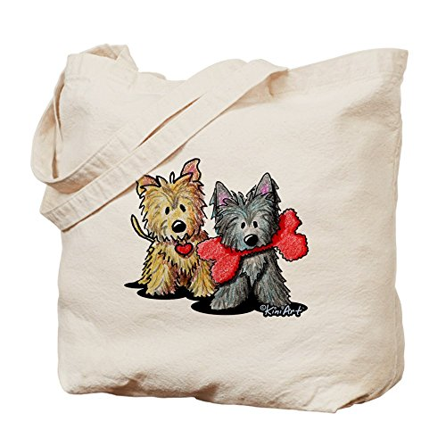 CafePress - Cairn Duo - Natural Canvas Tote Bag, Cloth Shopping - Cairns Shopping