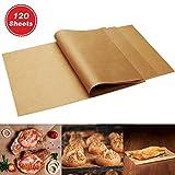 120 x Parchment Paper Sheets - No Curl, No Tear, No