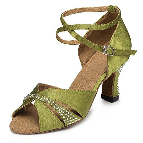 Miyoopark - salón mujer Green-7cm heel