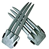 LiYou 1Piece Halloween Cosplay Wolverine Claws Plastic Toys Festival Decoration