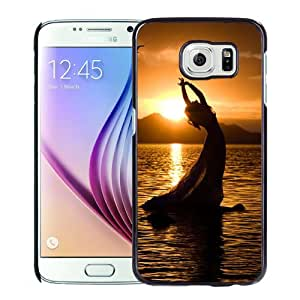 New Fashionable Designed For Samsung Galaxy S6 Phone Case With Female Dancer Silhouette Phone Case Cover