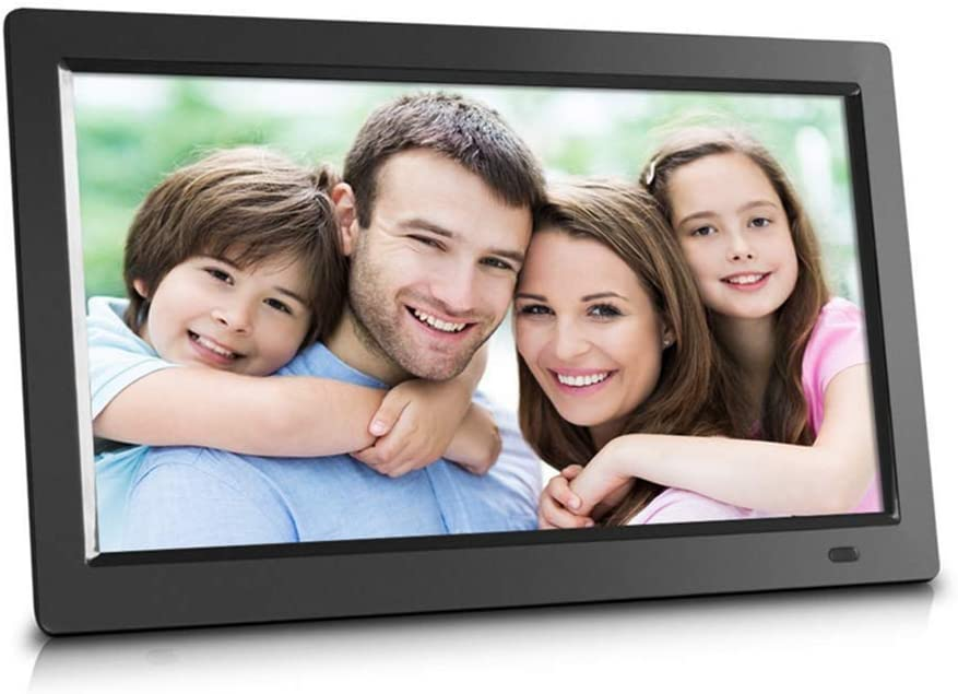 Digital Picture Frame Support SD Card//USB//Music Stereo //MP3//Calendar//Clock//Time//Remote Control,Black 18.5 Inch Digital Photo Frame with Wireless Remote Control