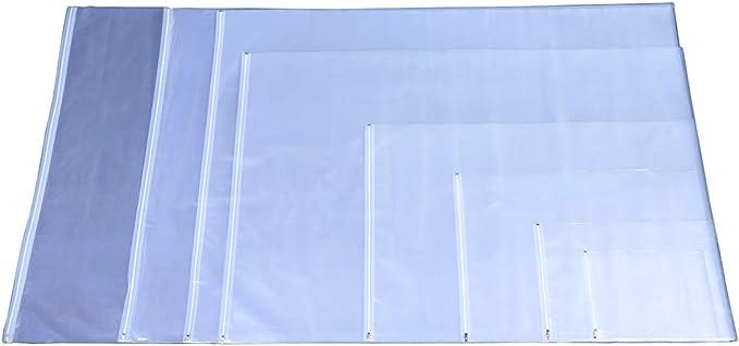 Fundas protectoras para planos 640 x 900 mm paquete de 10 fundas para planos fundas de protección para planos protector para planos fundas transparentes DIN A0 A1 A2 A3 A4 A5 A6