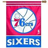 NBA Philadelphia 76Ers 27 by 37-Inch Vertical Flag